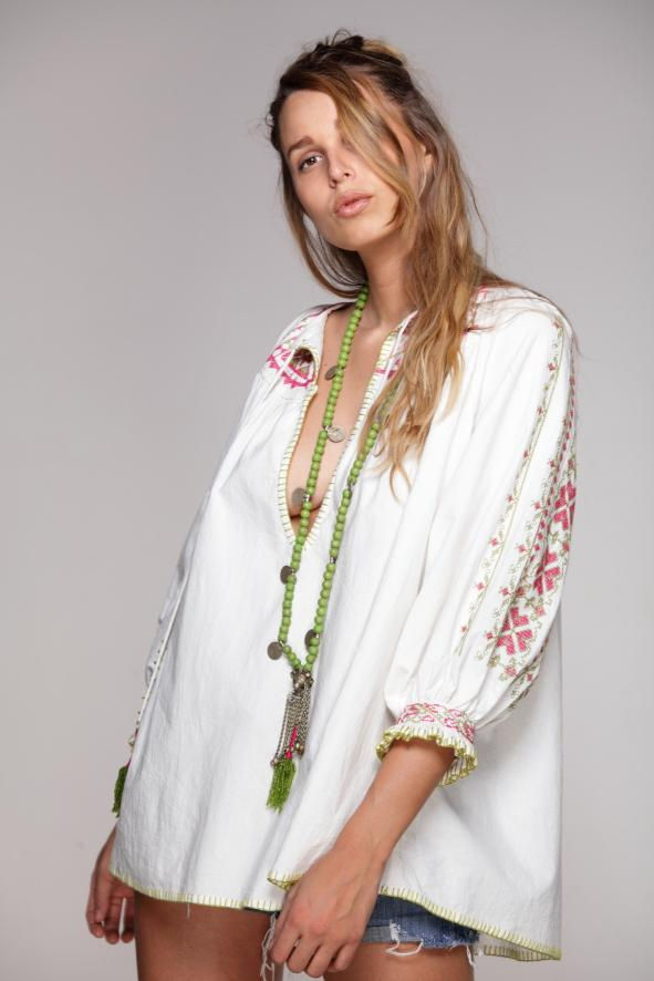 FREE embroidered Tunic