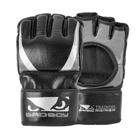 MMA Gloves - Bad Boy Training Series 2.0 MMA Gloves Charcoal