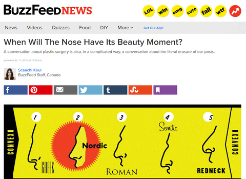 NoseSecret on BuzzFeed report