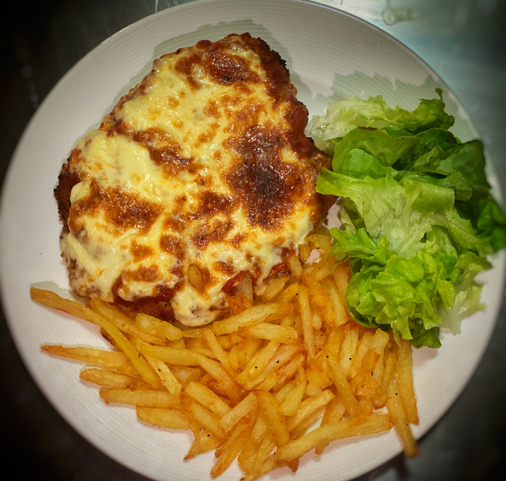 Garlic² Chicken Parmi