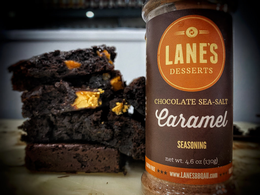 Lane's Chocolate Caramilk and Marshmallow Brownies