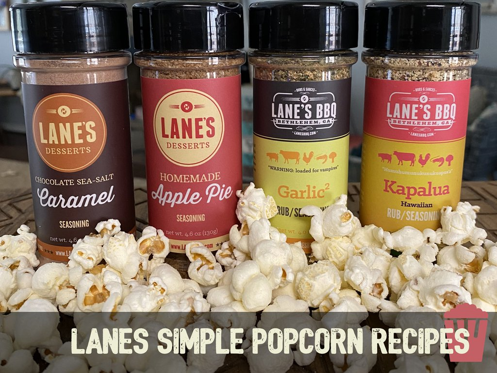 HOW TO FLAVOUR YOUR POPCORN USING LANE'S SEASONINGS
