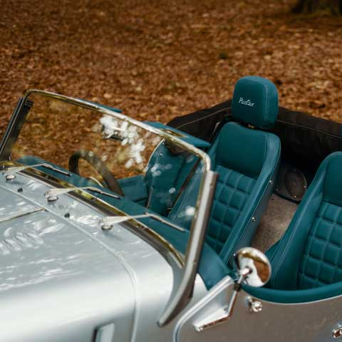 Morgan Plus Six Interior