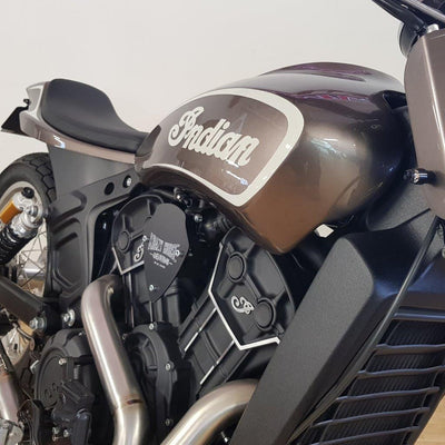 Indian KH Street Hooligan - Bronze Smoke Metallic