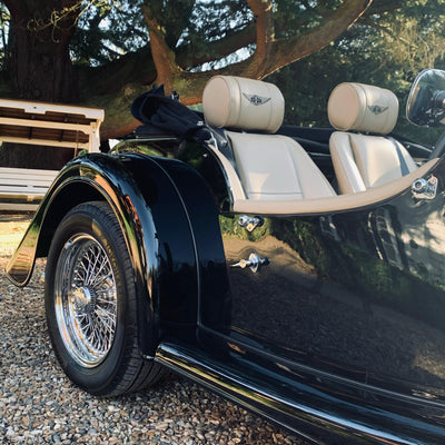 Morgan Plus 4 - Sports Black - For sale