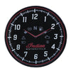 Wall Clock with Modern Speedometer Design