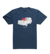 DEUS EX MACHINA THE A100 T SHIRT NAVY