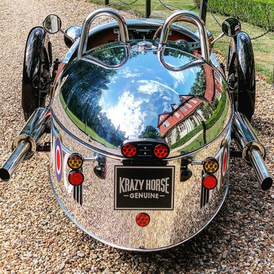 SOLD - Morgan 3 Wheeler Special - Polished