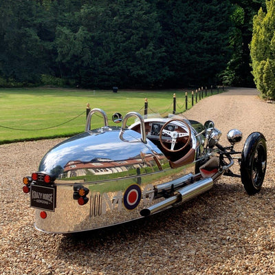 Morgan 3 Wheeler Special - Polished