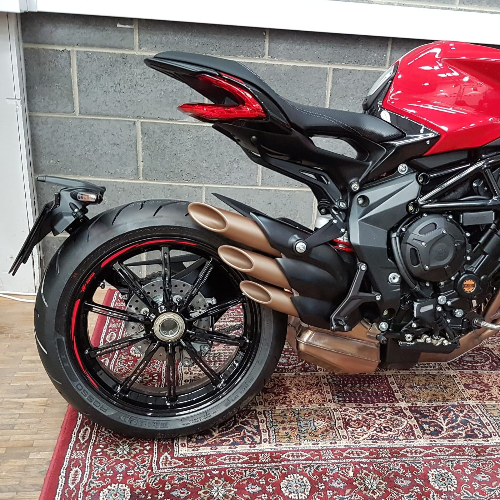 MV Agusta Adds Three Rosso Models at Cheaper Price