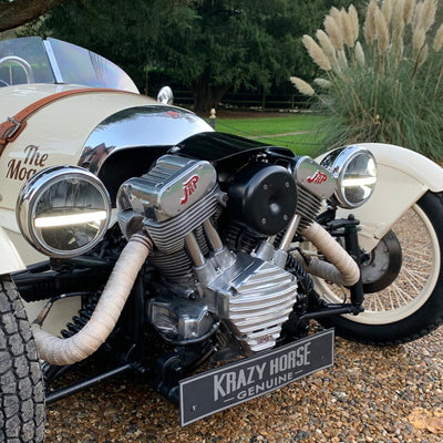 Morgan 3 wheeler - Cream - With JAP cover set