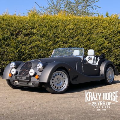 SOLD - Morgan Plus Six - 3.0 Auto - Silverstone track grey - Matt