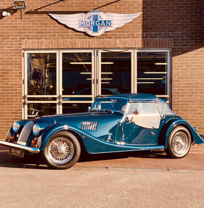 SOLD - Morgan 4/4 1.6 Sigma - Sport Blue