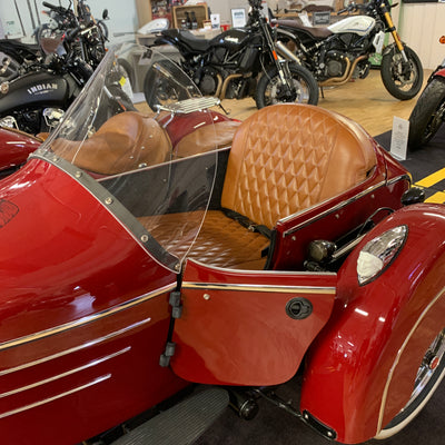 Indian Chief Vintage with DMC Sidecar