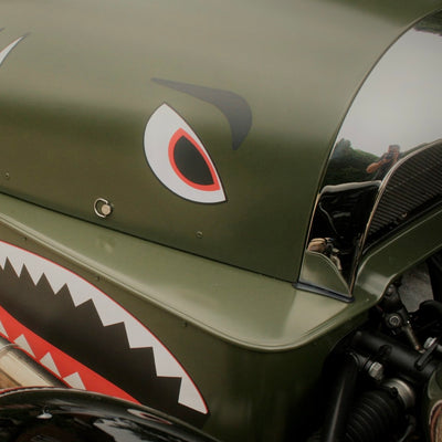 SOLD - Morgan 3 Wheeler - Green Shark