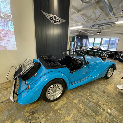 Morgan Roadster - Riviera Blue