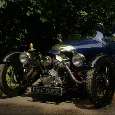 Morgan 3 Wheeler - Tour De France Blue