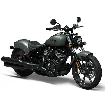 New Indian Chief Dark Horse - Alumina Jade Smoke