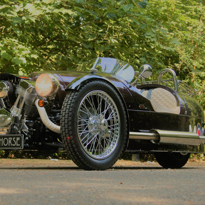 Morgan 3 Wheeler - Shiraz Red Pearl