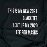 couples unisex tees black 2021 and 2020