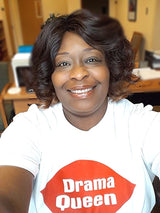 Drama Queen white Tshirts.  We all have a little Diva in us.
