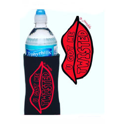 BIG RED LIPS - Water Bottle Sleeve