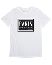Paris: Live The Style T-shirt
