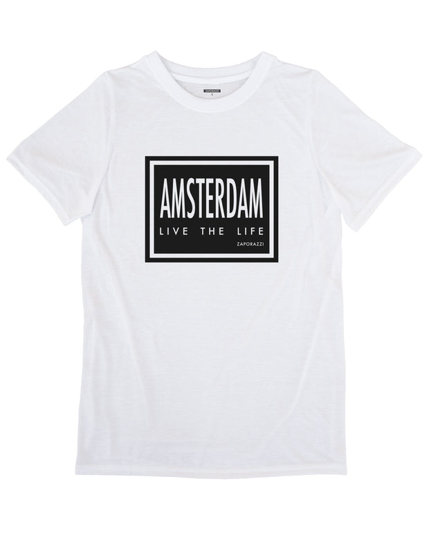 Amsterdam: Live The Life T-shirt