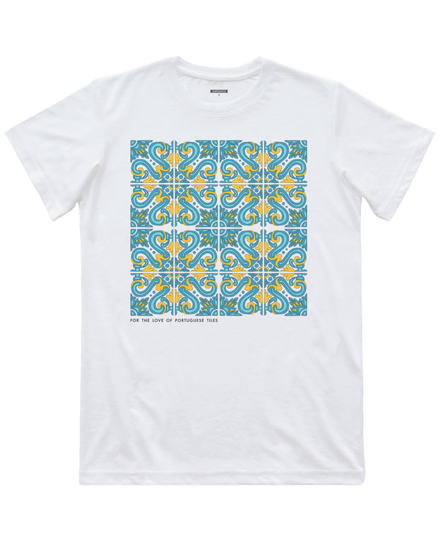 For the Love of Portuguese Tiles T-shirt | Lisbon