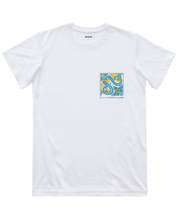 Tile Pocket T-shirt | Lisbon