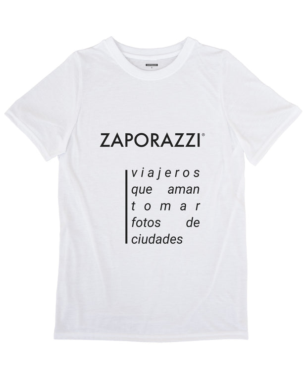 what does Zaporazzi mean photography Tshirt