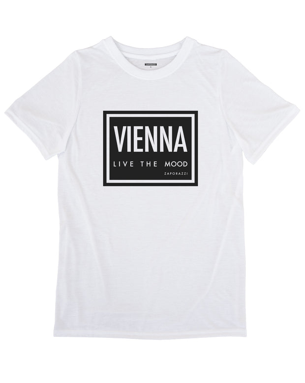 Vienna: Live The Mood T-shirt