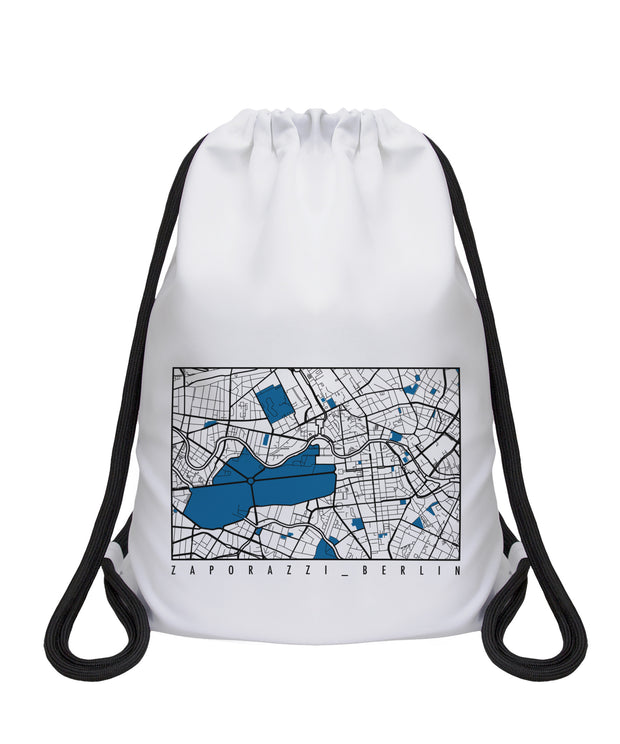 Map Drawstring Bag | Berlin