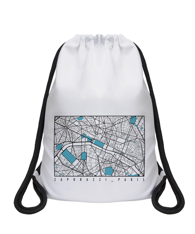 Map Drawstring  | Paris