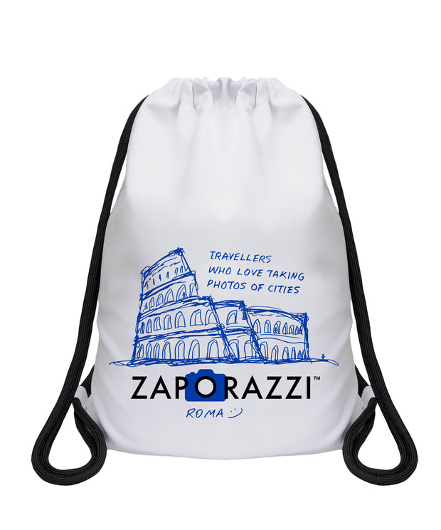 Colosseum Drawstring Bag