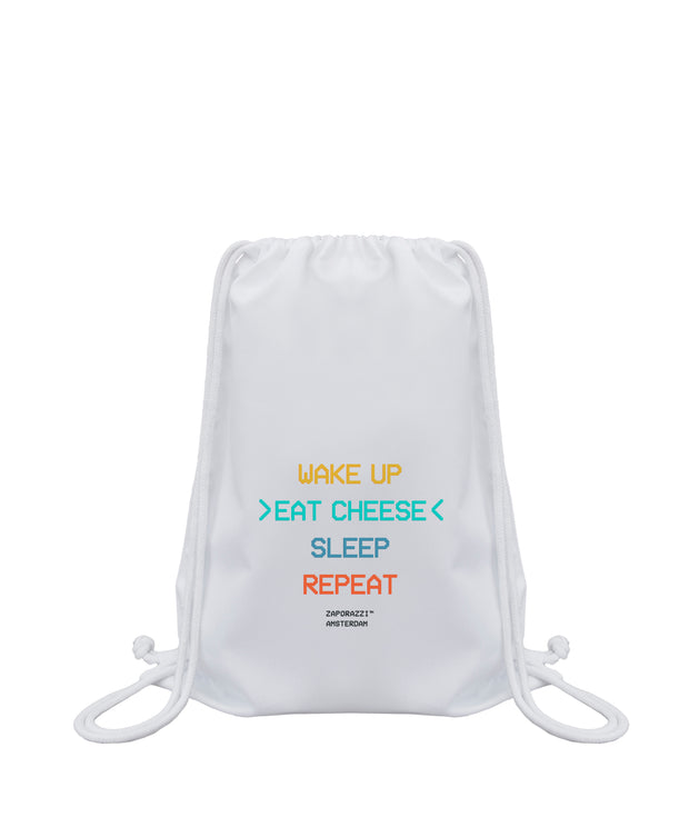 Cheese Drawstring Bag | Amsterdam