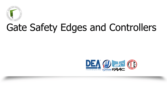 Gate Safety Edges and Controllers