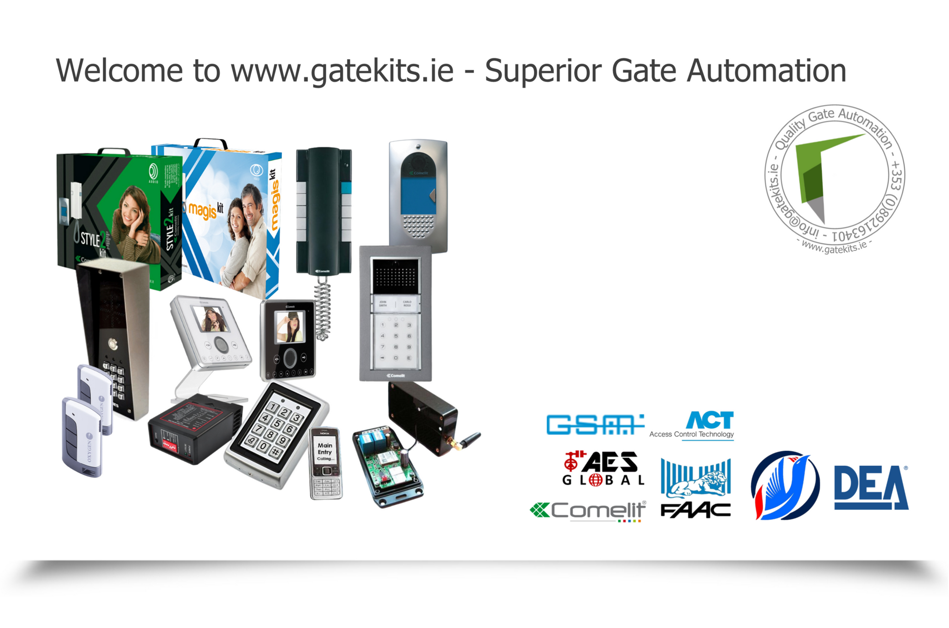 Suppliers Of Superior Gate Automation Kits Electric Relay Entry Systems