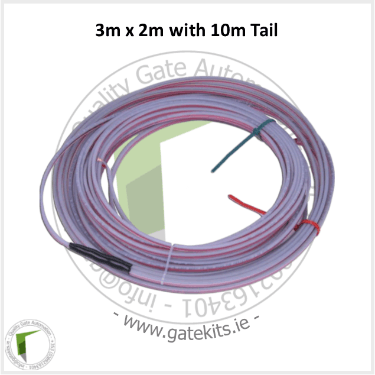 Pre-Made Loop Detector Cable - 3M X 2M Pre-Made Loop - Loop Detector