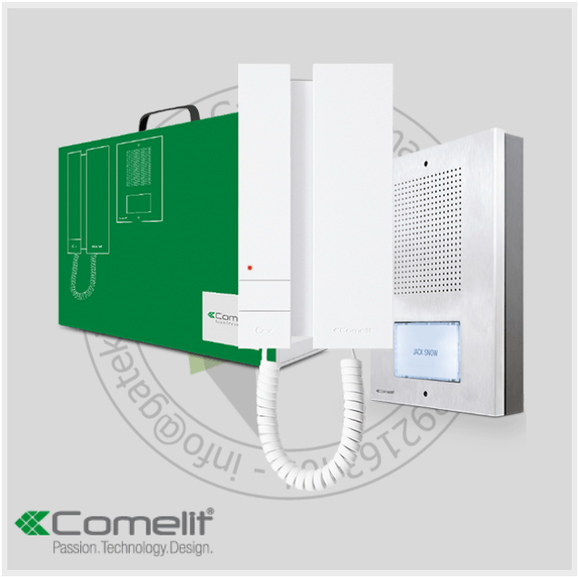 Comelit Style 5 Intercom Kit - With 1 Handset - Intercom