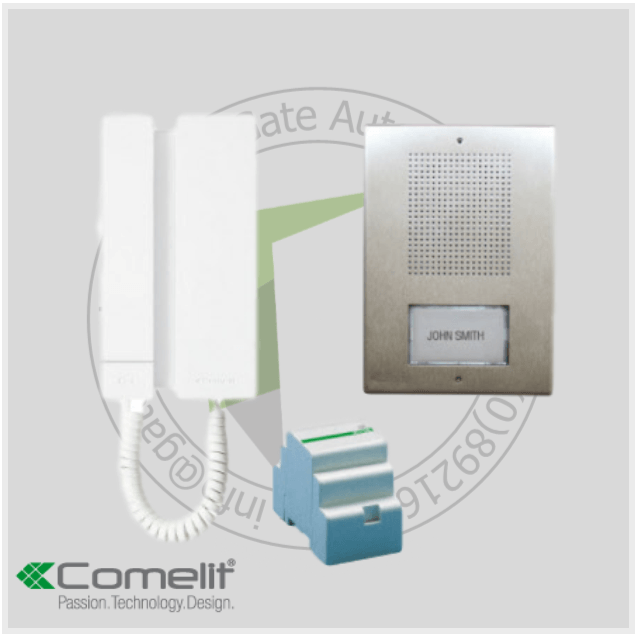 Comelit KAE5061 Intercom Kit - With 1 Handset - Intercom