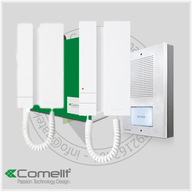 Comelit KAE5061 Intercom Kit - With 2 Handset - Intercom