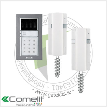 Comelit 8241I Intercom Kit - With 2 Handset - Intercom