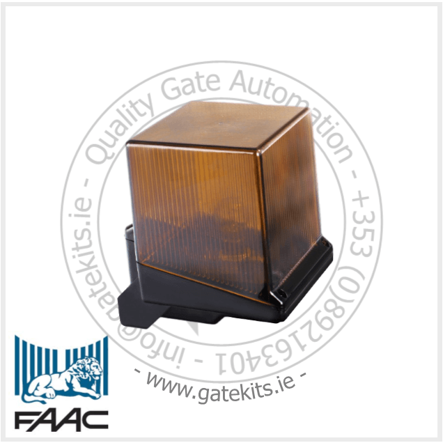 Faac 410013 Amber Warning Light - Warning Light