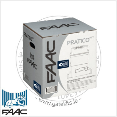 Faac 746 Pratico Sliding Gate Kit 10564993 - Sliding Gate Motor