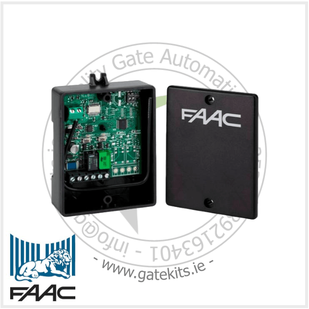 Faac Xr2 433 2-Channel External Receiver 433 Mhz - Faac 787747 - Receiver