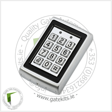 Metal Keypad With Rf Card Reader - Without Transformer - Keypad