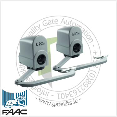 Faac 391 24V Swing Gate Operator - Articulated Gate Kit