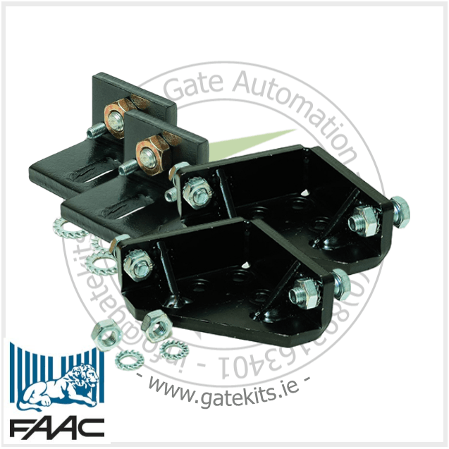 Faac 770N mechanical stops Kit - Kit For Both Leaves - Gate Accessories