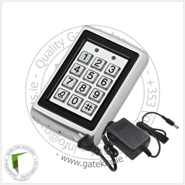 Metal Keypad With Rf Card Reader - With Transformer - Keypad